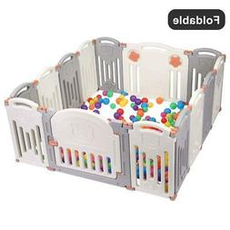 14 panel baby playpen kids activity centre