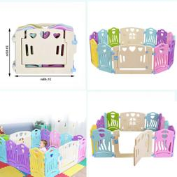 14 panel baby playpen kids center activity
