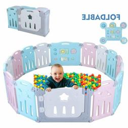 16 panel baby safety play yards kids