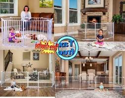 Regalo 192-Inch Super Wide Adjustable Durable Baby Pet Gate