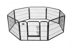 BestPet 24 8 Panel Pet Playpen Heavy Duty Dog Exercise Pen C