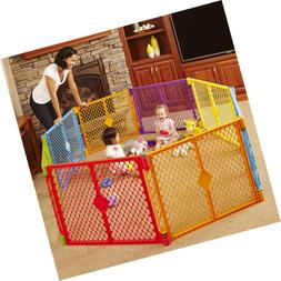 "North States 256"" Superyard Colorplay 8-Panel Play Yard: Saf"
