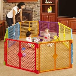 "North States 256"" Superyard Colorplay 8Panel Play Yard Safe"