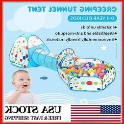 3 In 1 Baby Playpen Foldable Kids Safety Play Center Yard Fe