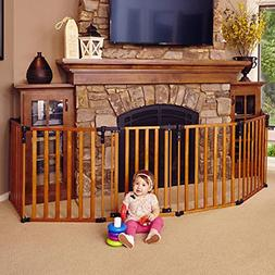"North States 3-in-1 Wood Superyard - 151"" Long Play Yard: Cr"