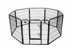 BestPet 32'' 8 Panel Heavy Duty Pet Playpen Dog Exercise Pen