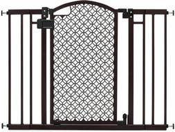 Summer Infant 42-in x 30-in Bronze Metal Safety Gate with Ex