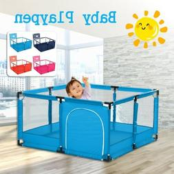 "50""x26"" Baby Playpen Kids Safety Home Pen Fence Play Center"