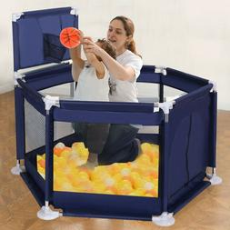 """59""""x26"""" Baby Playpen Kid Safety Panel Play Center Yard Home"""