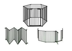 BuyHive 6 Panels Safety Fireplace Playpen Home Pet Dog Fence