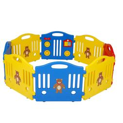 Polar Aurora 8 Panel Safety Play Center Yard Baby Playpen Ki