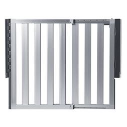 Munchkin Loft Aluminum Hardware Mount Baby Gate for Stairs,
