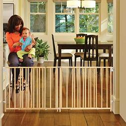 "North States 103"" Wide Extra-Wide Swing Baby Gate: Perfect f"