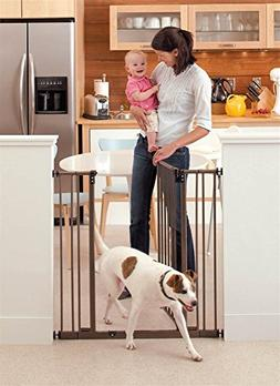 """North States 38.5"""" Wide Extra-Tall Easy-Close Baby Gate: Equ"""