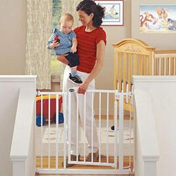"North States 38.75"" Wide Auto-Close Baby Gate: Automatic clo"