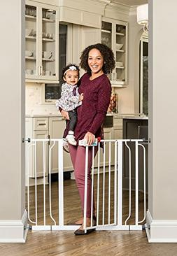 Regalo 44 Inch Easy Step Extra Wide Baby Gate, Includes 4-In