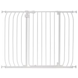 Summer Infant Multi-Use Extra Tall Walk-Thru Baby Gate, Whit