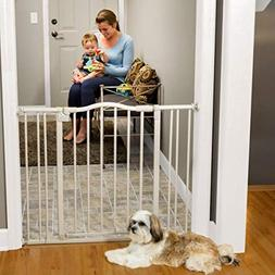 """North States 38.25"""" Arched Auto-Close Baby Gate with Easy-St"""