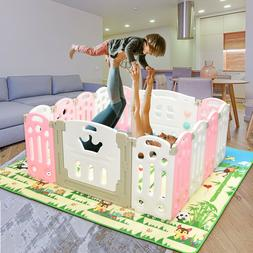 Baby Folding playpen Kids Activity Centre Baby Safety Play Y
