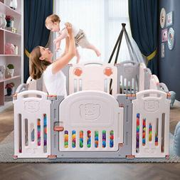 Baby Folding playpen Kids Activity Centre Safety Play Yard H