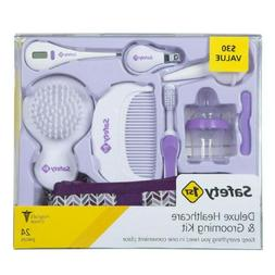 Safety 1st Baby Girl Deluxe Health & Grooming Kit 24Pc Regis