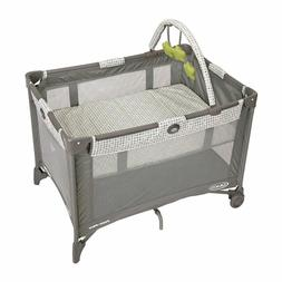Baby Play Yard Crib Pen Bed Bassinet Folding Travel Portable