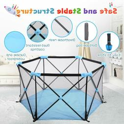 Baby Play Yard - Instant Pop up - Portable Kids Playpen Acti