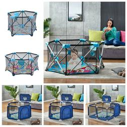 Baby Play Yard Playpen Safety Activity Play Center Infant In