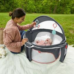Baby Playard Bassinet Portable Infant Child Newborn Playpen