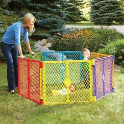 Baby Playpen Fence Toddler Play Yard Indoor Outdoor Portable
