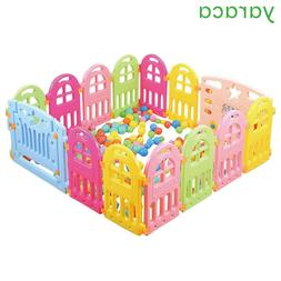 Baby Playpen <font><b>Plastic</b></font> Fencing For Childre