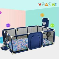Baby Playpen Play Kids Safety Yard Center Outdoor Fence Indo