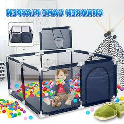 Baby Playpen Safety Play Yard Kid Activity Center Toddler Fo