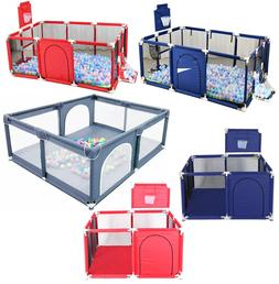 Baby Safety Play Yard Kid Activity Center Toddler Folding In