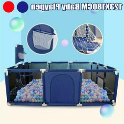 Baby Safety Play Yard Kid Activity Playpen Center Toddler Fo