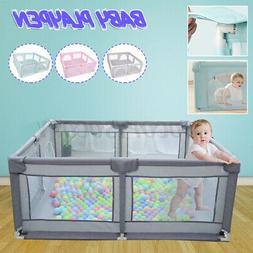 Baby Safety Play Yard Kid Child Activity Center Toddler Fold