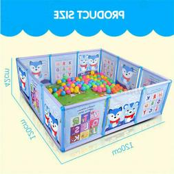 Baby Safety Play Yards Playpen Kid Activity Center Toddler F