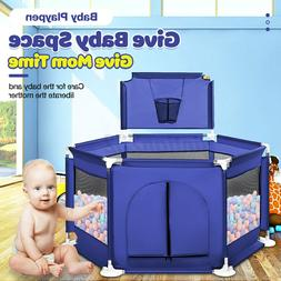 Baby Safety Playpen Play Yard Kid Activity Center Toddler Fo