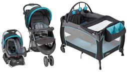 Baby Trend Stroller Travel System with Car Seat, Infant Nurs