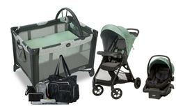 Baby Stroller with Car Seat Diaper Bag Playard Travel System