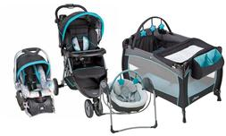 Baby Stroller with Car Seat Nursery Play Yard Infant Swing T