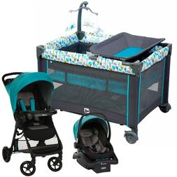 Baby Stroller with Car Seat Travel System Playard Bed Infant