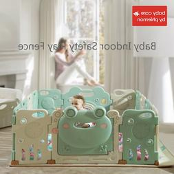 Babycare Baby Indoor Safety <font><b>Play</b></font> Fence <