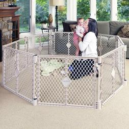 North States Superyard Indoor Outdoor 8 Panel Playard - Sand