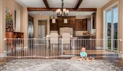 Child Gate Convertible Play Yard Safety Baby Toddler Extra L