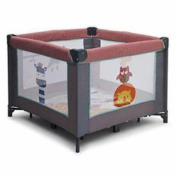 Delta Children 36 x 36 Playard - Safari Fun