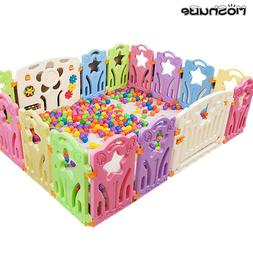 Children's Playpen 2019 New Candy Color Safety Barrier For B
