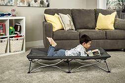 Regalo My Cot Portable Travel Bed, Grey, Includes Fitted She