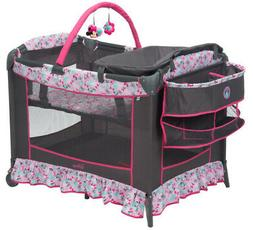 Crib Bassinet Baby Playpen Playard Infant Portable Travel Pl