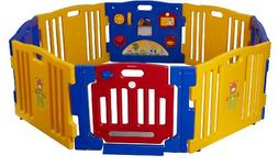 Baby Diego Cub'Zone Playpen and Activity Center, Yellow/Blue